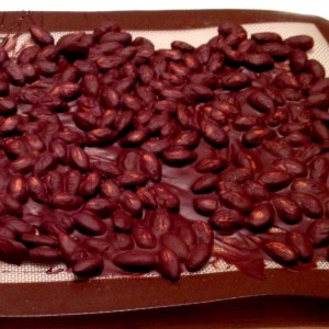 Mexican Almond Chocolate Bark - Cooled Sheet