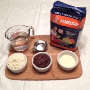Pupusas - Dough Ingredients