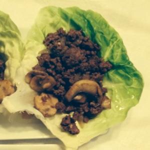 Asian Lettuce Wraps - Ready to enjoy!