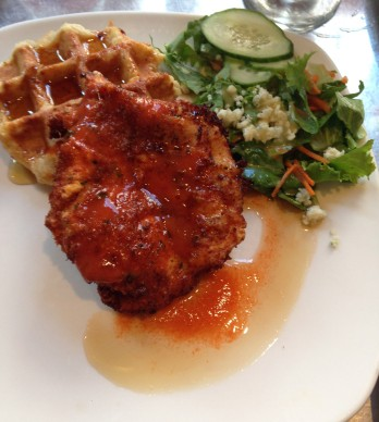 Taste of Belgium - Chicken and Waffles