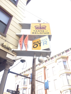 Taste of Belgium - Sign