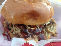 Eli's BBQ - Pulled pork close up