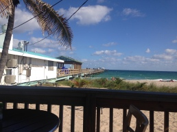 View from Anglins Beach Cafe