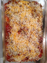 Enchiladas Ready for Baking