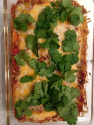 Enchiladas Ready to Enjoy!