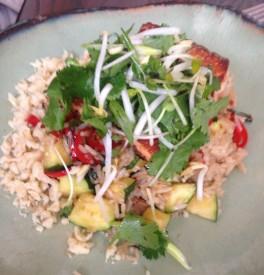 Second Bar + Kitchen - seared faroe island salmon