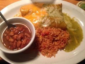 Trudy's - Enchiladas (HAD to get some Tex Mex)