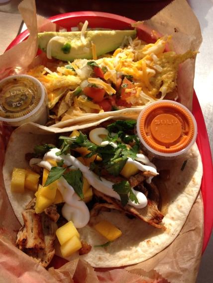 Torchy's - Bushfire and Migas Taco
