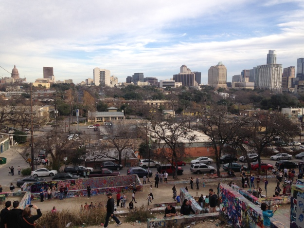 Austin - Taken from Graffiti Park at Castle Hills