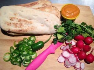 Thai Flatbread Ingredients