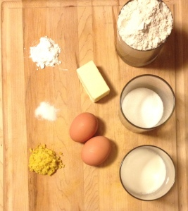 lemon scone ingredients