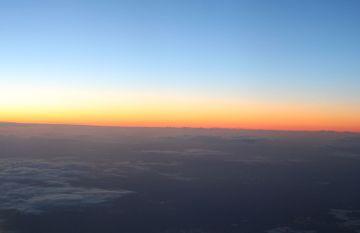 Sunrise over Dublin!