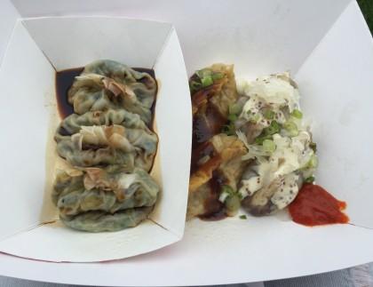 Smorgasburg: Brooklyn Wok Shop - Dumpling Sampler